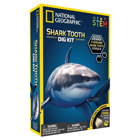 National Geographic Shark Teeth Dig Kit - image 1 of 1