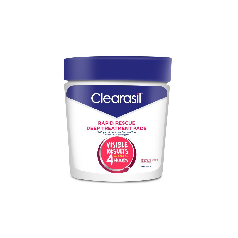 Image of Clearasil Rapid Rescue Deep Treatment Pads - 90ct