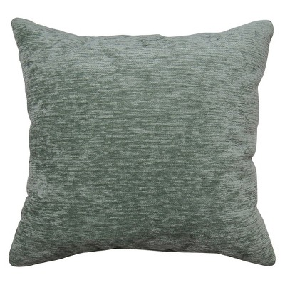 Solid Square Throw Pillow Green - Threshold™