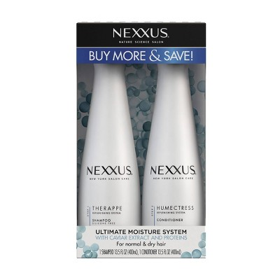 Nexxus Nature Science Salon Ultimate Moisture System Shampoo & Conditioner – 2pk/27 fl oz
