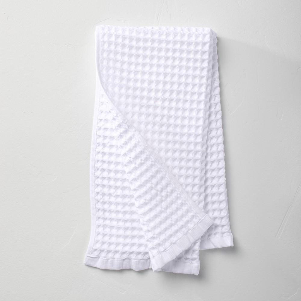 Waffle Hand Towel White Casaluna 8482