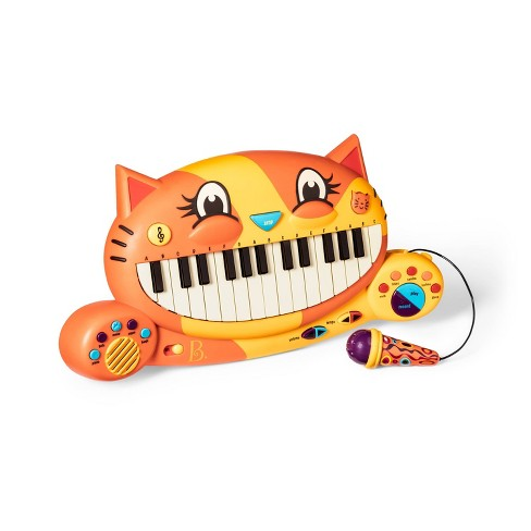 B. Toys Interactive Cat Piano - Meowsic - image 1 of 4