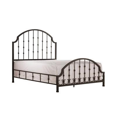 Westgate Bed Set with Rails Included Black - Hillsdale Furniture
