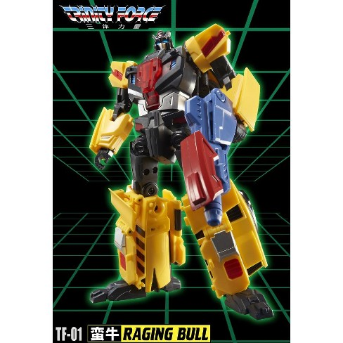 TFC Toys - Trinity Force - TF-01 Raging Bull Action Figures - image 1 of 4