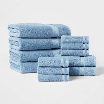 12pk Antimicrobial Starter Bundle Blue - Total Fresh