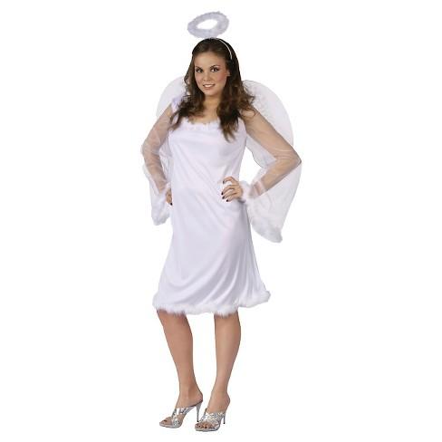Women's Angel Costume White XX-Large - image 1 of 1
