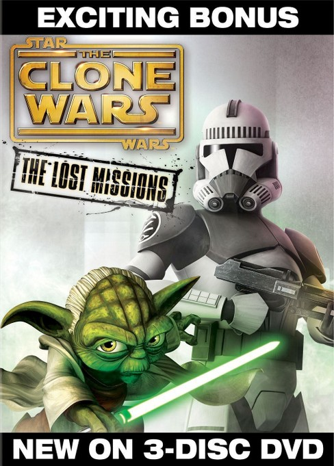 Star Wars: The Clone Wars - The Lost Missions [3 Discs] - image 1 of 1