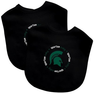 NCAA Michigan State Spartans Baby Bib 2pk