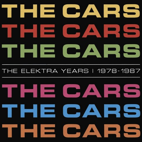 Cars - Elektra years 1978-1987 (CD) - image 1 of 1