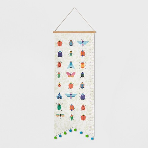 Insect Growth Chart - Pillowfort™ - image 1 of 4