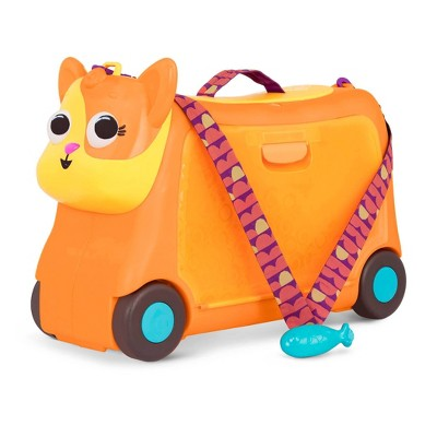 Land of B. Kids Ride-On Toy with Storage - On the Gogo Lolo