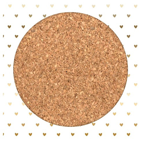 Gold Heart Cork Board - Pillowfort™ - image 1 of 1