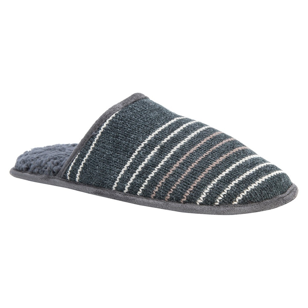 Men's Muk Luks Gavin Slide Slippers - Gray M