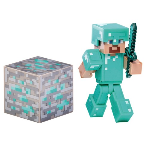 Minecraft Diamond Steve with  Accessory - image 1 of 2
