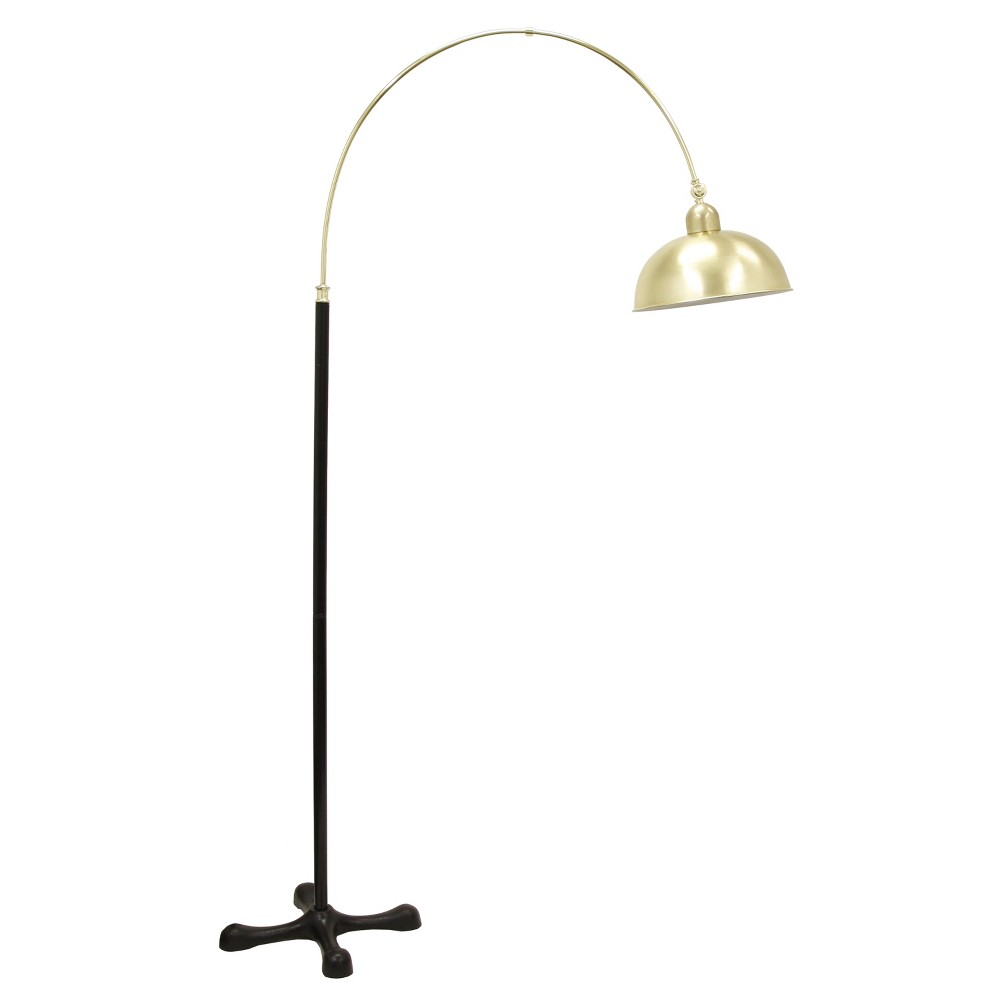 81 Ark Floor Lamp Brass (Lamp Only) - Decor Therapy