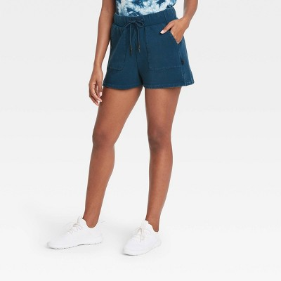 Women's French Terry Mid-Rise Shorts - JoyLab™