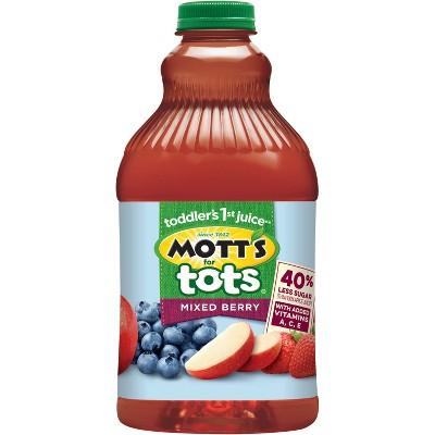 Mott's for Tots Mixed Berry Juice - 64 fl oz Bottle