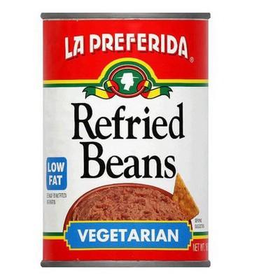 Beans: La Preferida Vegetarian Refried Beans