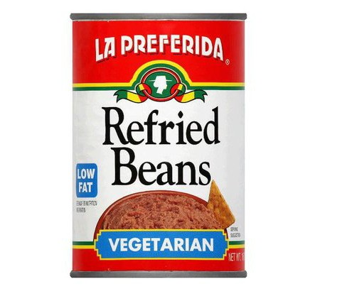 La Preferida Low Fat Vegetarian Refried Beans 16-oz. - image 1 of 1