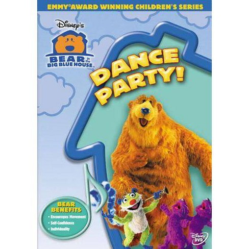 Bear in the Big Blue House: Dance Party! (DVD) - image 1 of 1