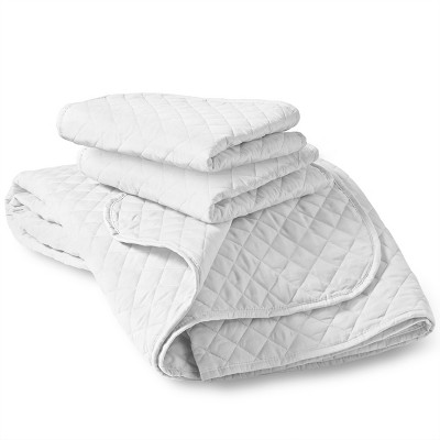 Bare Home Diamond Stitched Coverlet Set
