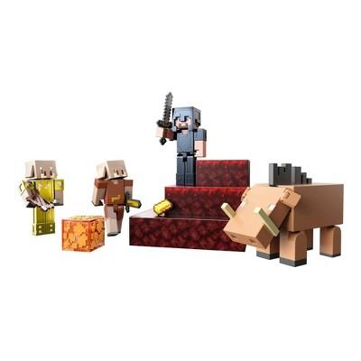 Minecraft Crimson Forest Conquest Figures