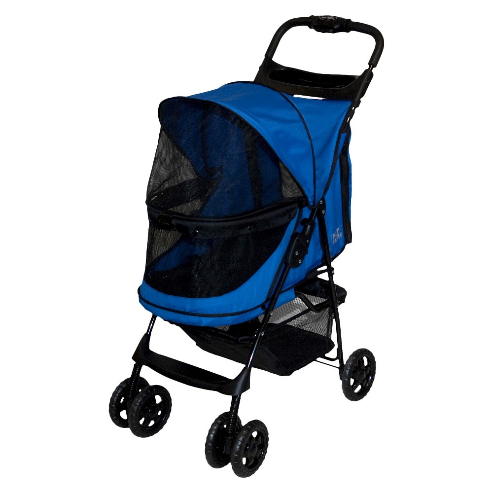 Pet Gear Happy Trails No-Zip Dogs Stroller - 30.5L x 15W - Sapphire Reviews