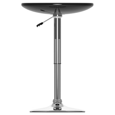 Adjustable Height Round Bar Table   CorLiving