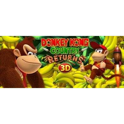 Donkey Kong Country: Returns 3D - Nintendo 3DS (Digital)