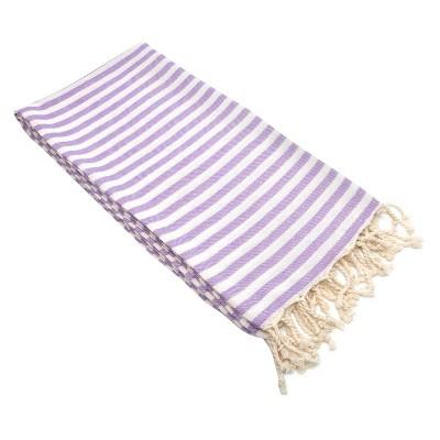 Fun in the Sun Pestemal Beach Towel Lilac
