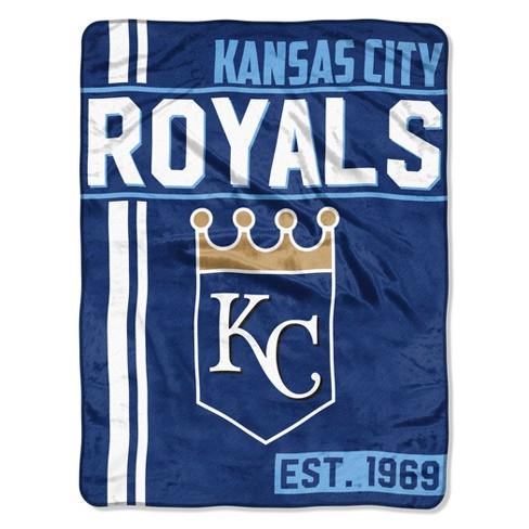 MLB Kansas City Royals Micro Fleece Throw Blanket - image 1 of 1