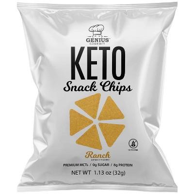 Genius Gourmet Ranch Chips - 4ct