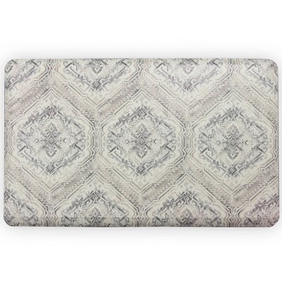 Harper Anti-Fatigue Comfort Long Floor Mat Gray - Brewster