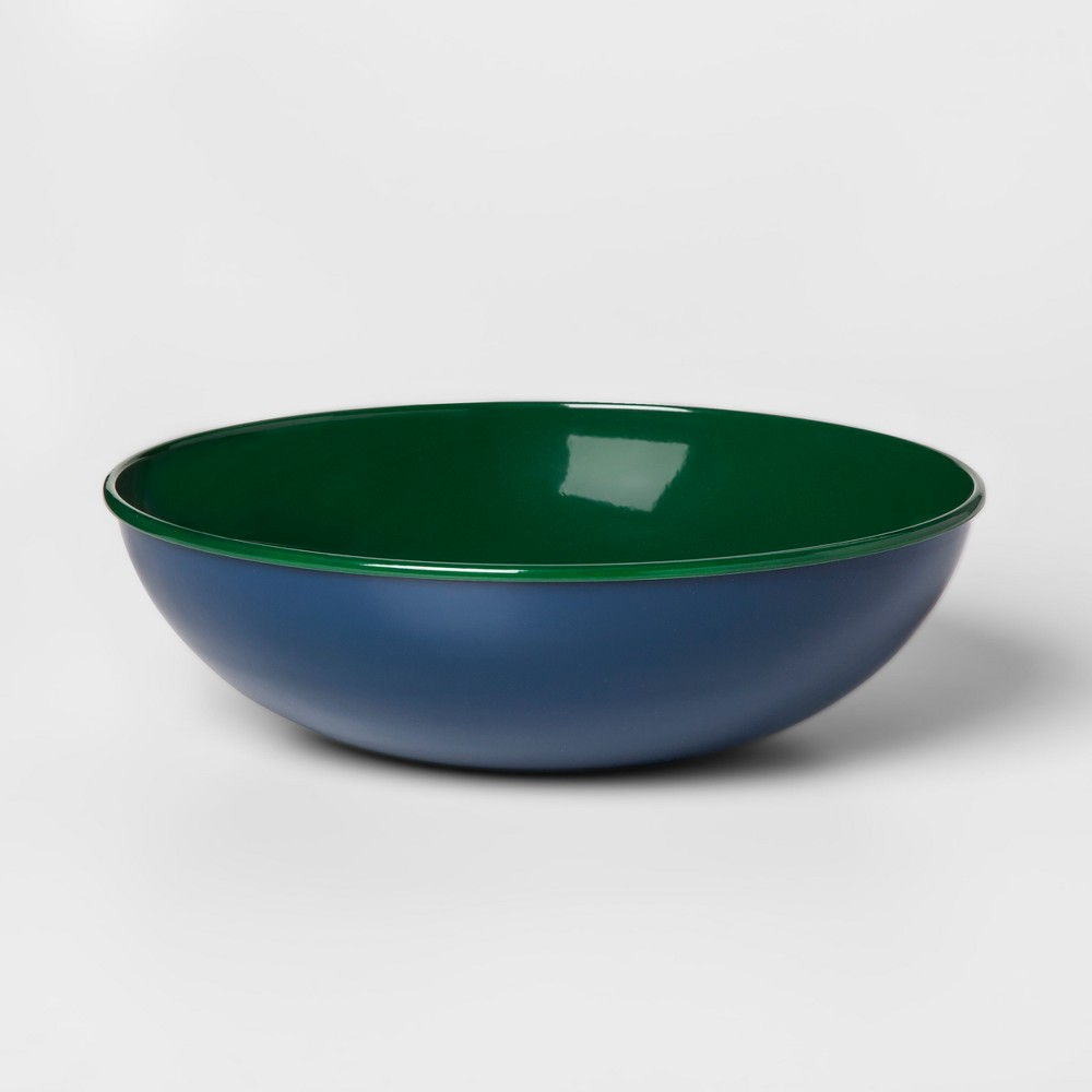 Aluminum Bowl - Blue/Green - Threshold