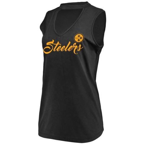 NFL Pittsburgh Steelers Women s Constant Effort Sleeveless T-Shirt b5e65ccf1