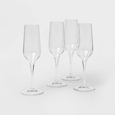 4pk Atherton Wine Glasses - Threshold™