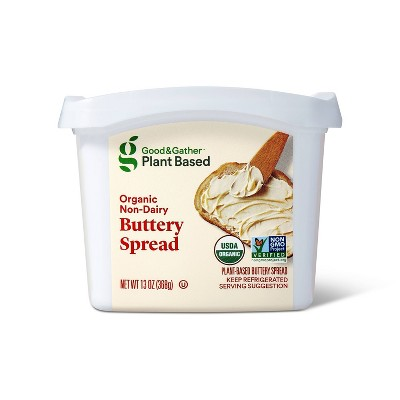 Plant Based Organic Non-Dairy Buttery Spread - 13oz - Good & Gather™