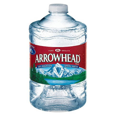 Arrowhead Brand 100% Mountain Spring Water - 101.4 fl oz Jug - image 1 of 1