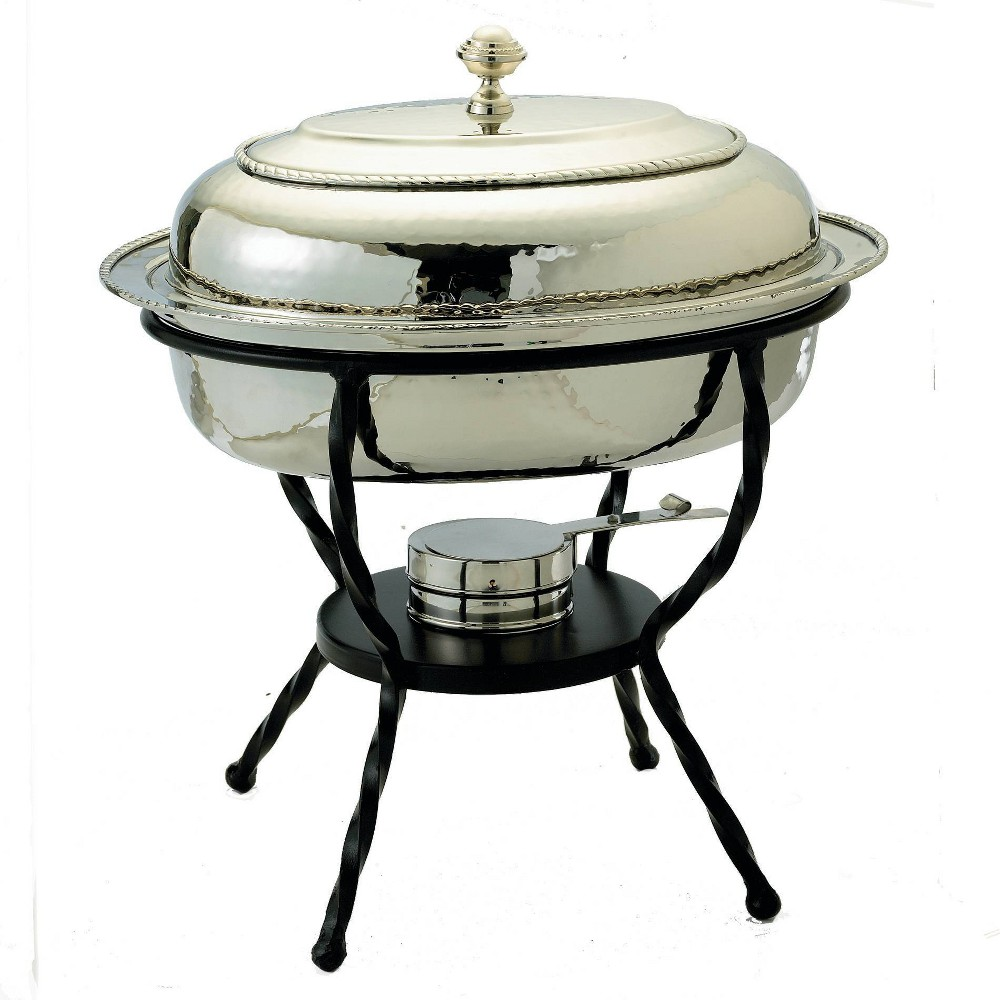Image of Old Dutch 6qt Stainless Steel Oval Chafing Dish