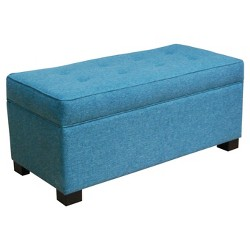 Shelton Tufted Top Storage Ottoman - Threshold™
