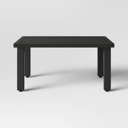 Asti Intersecting Patio Coffee Table - Black - Project 62™
