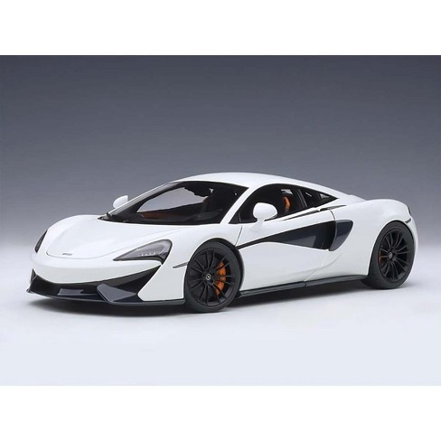 McLaren 570S White with Black Wheels 1/18 Model Car by Autoart - image 1 of 4