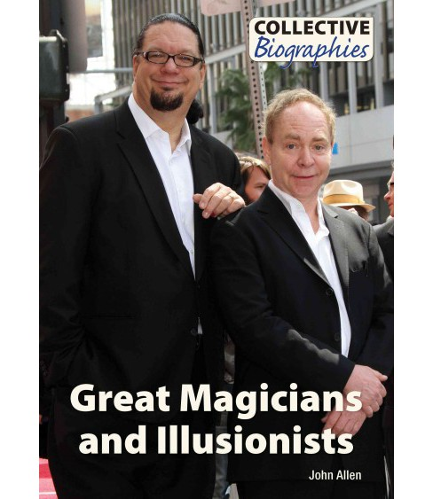 Great Magicians and Illusionists (Hardcover) (John Allen) - image 1 of 1