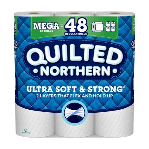 Quilted Northern Ultra Soft & Strong Toilet Paper - Mega Rolls - image 1 of 5