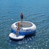 RAVE Sports Kids Inflatable Floating O Zone Lake House Water Jumper Bouncer - image 4 of 4