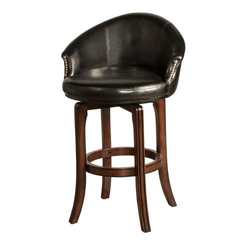 "30"" Dartford Swivel Bar Stool Brown/Black - Hillsdale Furniture - image 1 of 6"