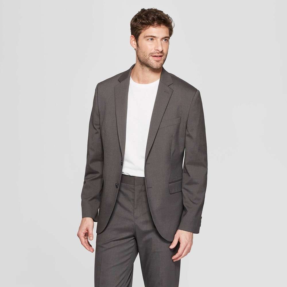 Mens Standard Fit Suit Jacket - Goodfellow & Co Charcoal 36S Buy