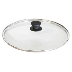 "Lodge 12"" Cookware Lid Glass"