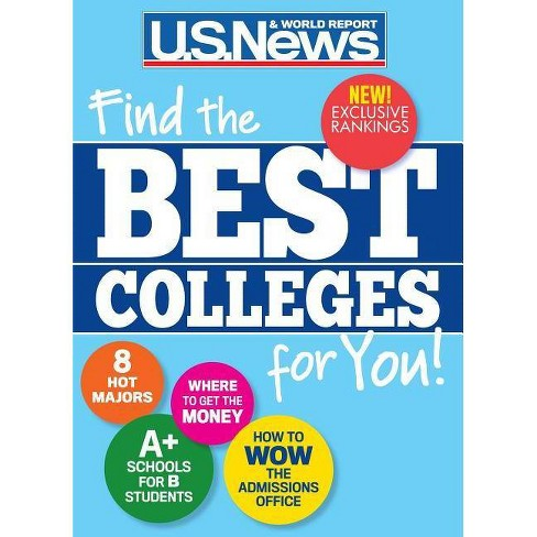 Us News Best High Schools 2020 Best Colleges 2020   By U S News And World Report (Paperback) : Target