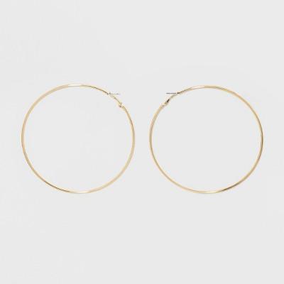 Large Hoop Earrings - Wild Fable™